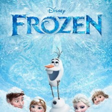 Poster for Disney's Frozen