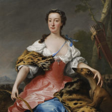 Andrea Soldi, Duchess of Manchester (1738). © Whitfield Fine Art