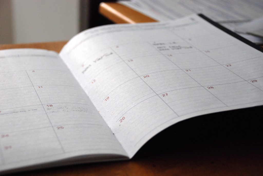 Open day planner